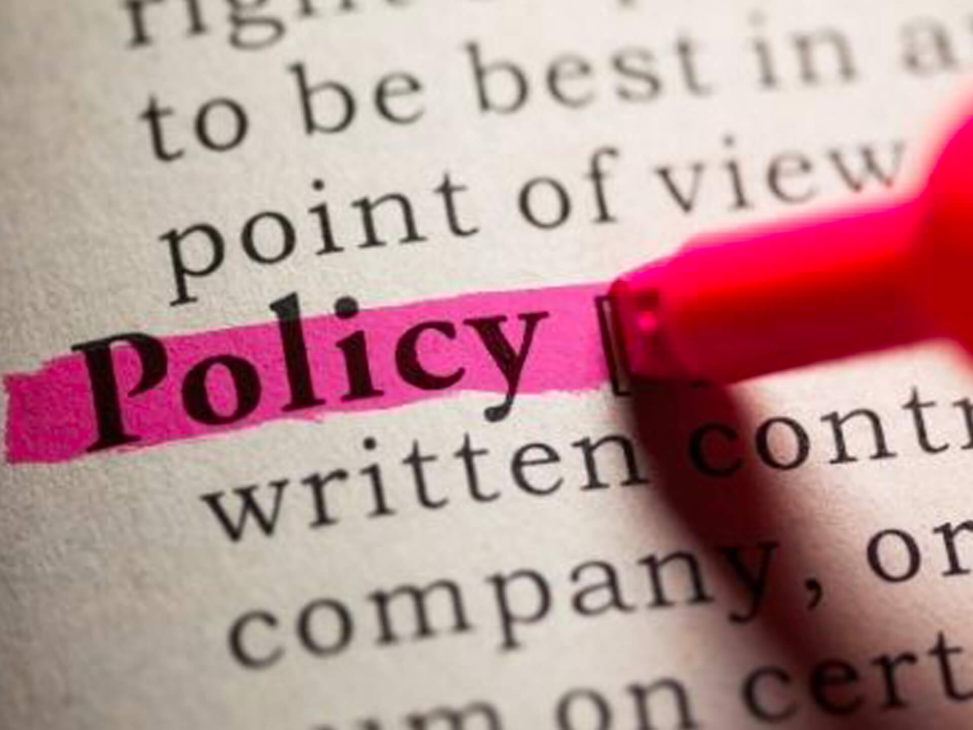 Policy Myth: Doing the Right Things Wrong